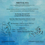 nrityalaya anniversary celebration